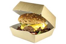 Homemade Cheeseburger In A Car...