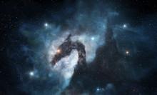 Dragon Shaped Nebula