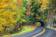 Smoky Mountain Tunnel With Col...
