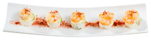 Grilled Shrimps On Rice Balls
