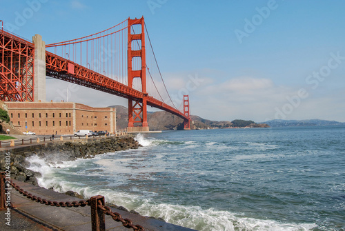Foto auf Acrylglas Bestsellers Golden gate Bridge