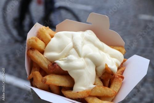 Fotomural Mayo fries