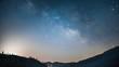 Yosemite night sky timelapse with Milky Way