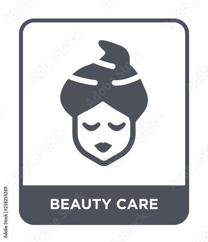 Fotografie, Obraz  beauty care icon vector