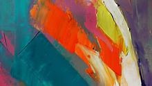 Fragment. Multicolored Texture...