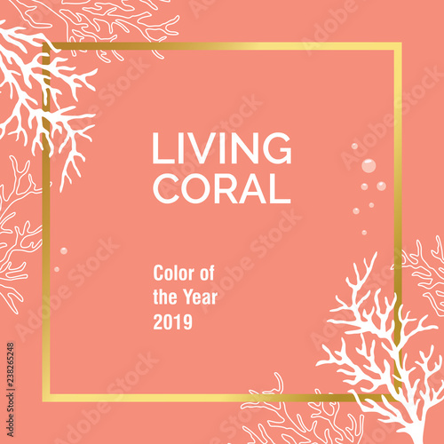 Color of the year 2019 - Living Coral
