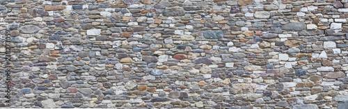 Fotografie, Obraz  Rustic natural stone wall