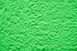 Leinwanddruck Bild - Prominent texture of green cement wall, background