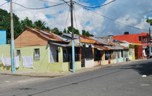 Typical Color Caribbean  Small Houses