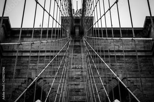Photo  Brooklyn Bridge Wall