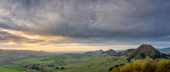 Sunset Over Los Osos Valley, San Luis Obispo County, CA