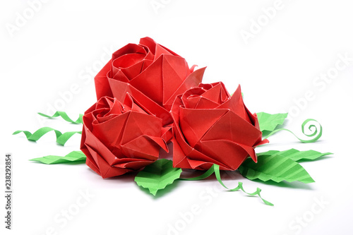 Make an Easy Origami Rose   334x500
