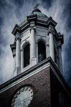 Steeple Of A Church In Augusta Ga