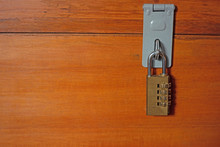 Padlock With Code To Secure St...