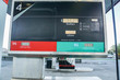 close up fuel monitor screen in petrol station