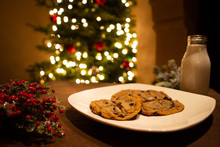 Christmas Milk And Cookies Wai...
