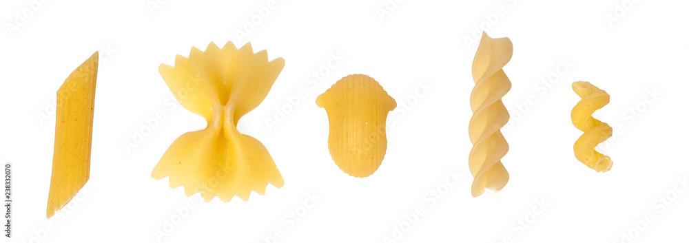 Fototapeta pasta on white background