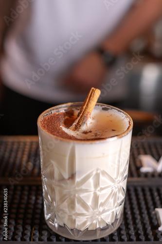 Poster Cocktail alcoholic milkshake