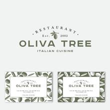 Oliva Tree Logo At Engraving S...