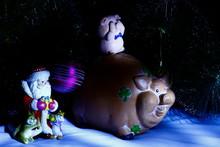 Christmas Still Life Ceramic F...