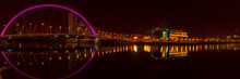 Night Time Shot Of The Glasgow...