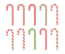 Christmas Cane Candy. Vector. ...