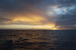 3079 Sunset during Atlantic Ocean crossing