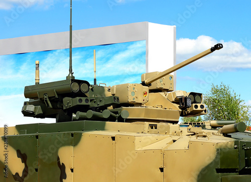 Fotografía  Armament of a new generation infantry fighting vehicle