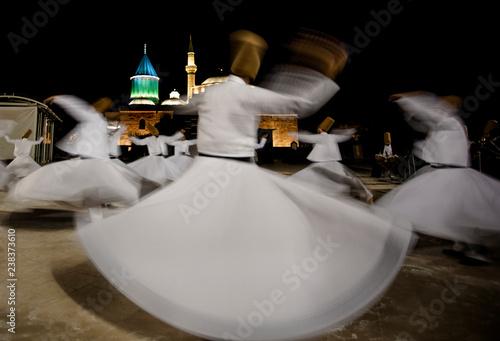 Semazen or Whirling Dervishes Mevlana, Konya, Turkey - 12 07