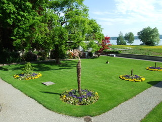 Park and arboretum Seeburgpark in Kreuzlingen - Canton of Thurgau, Switzerland