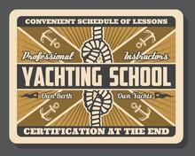 Yacht Anchor And Sail Boat Kno...