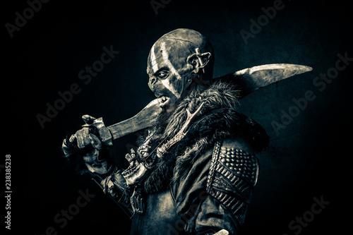 Obraz Orc - fototapety do salonu