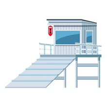 Lifeguards Tower Icon