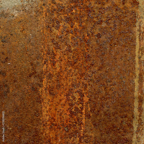 Poster Metal Rusty metal surface texture.