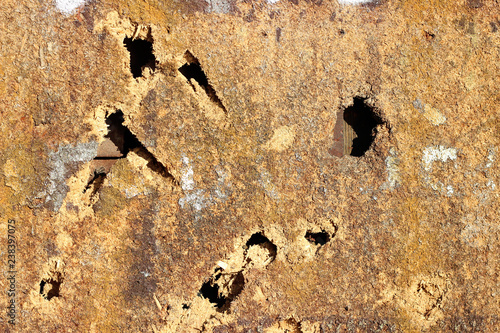 Pinturas sobre lienzo  Masonite fiberboard old damaged deteriorated texture detail