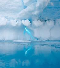 Iceberg Crack Near Fish Island...