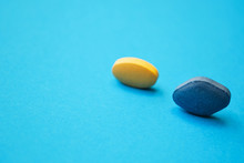 Yellow And Blue Pills . Blue B...