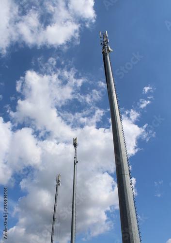 Fotografía  Antenne telefoniche - telecomunicazioni