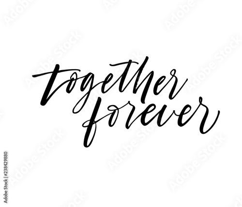 Fotografie, Obraz  Together forever card