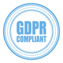 Gdpr Compliant Vector Stamp