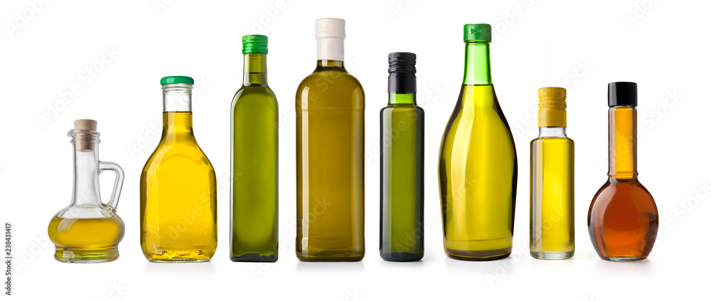 Fototapety, obrazy: oil olive bottle isolated