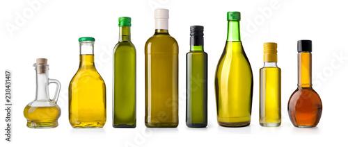 Fototapeta oil olive bottle isolated obraz