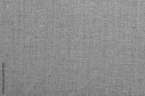 Deurstickers Stof Linen canvas background Textile texture