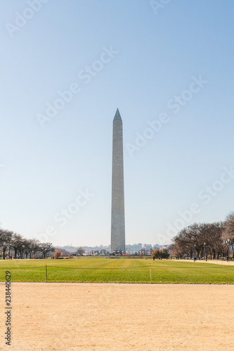 Fotografia  Washington DC Lincoln Memorial Washington Monument National Mall