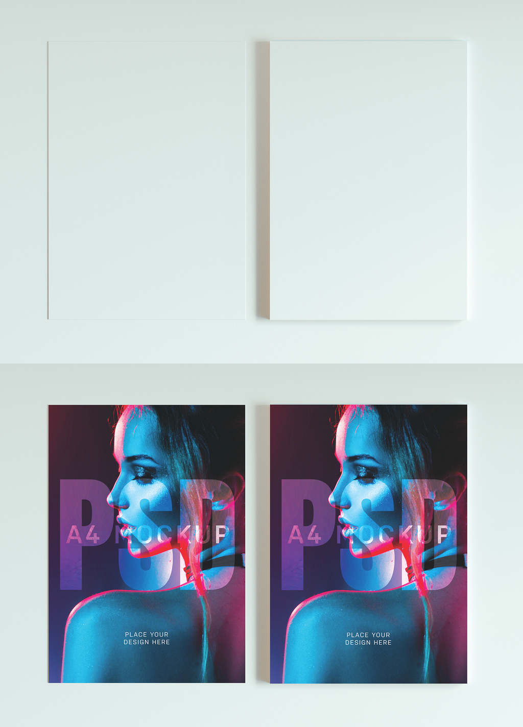 Flyer / A4 Paper Mockup