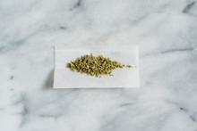 Marijuana In Rolling Paper