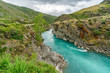 turquoise water in the river, new zealand 1