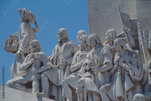 Fotografie, Obraz  seefahrerdenkmal in lissabon
