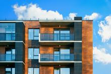 Facade Of Modern Luxury Building Exterior