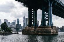 Manhattan Bridge Over East Riv...
